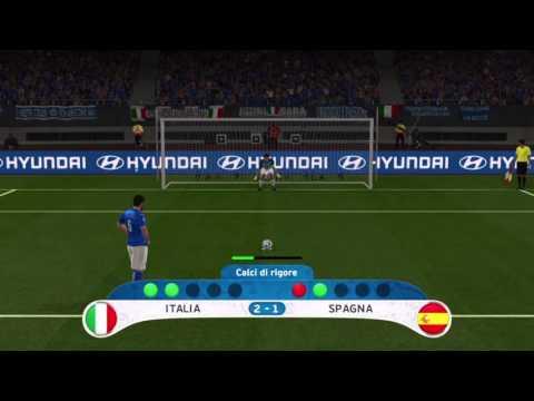 PES 2016 -ITALIA VS SPAGNA- RIGORI
