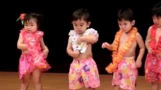 2歳になる孝仁君の初めての学習発表会。