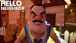 DECORATING THE NEW BETA HOUSE WITH THE NEIGHBOR'S STUFF!!! | Hello Neighbor (Beta)