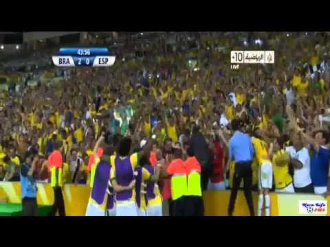 Neymar Amazing Goal VS Spain