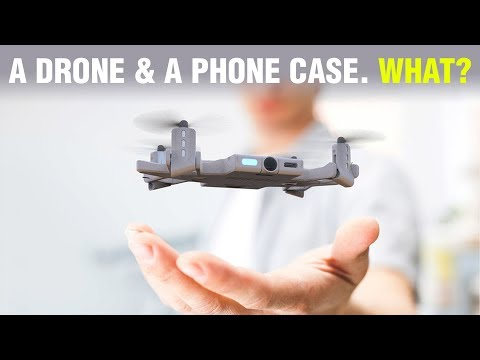 A Drone that is Also a Phone Case?! - #261