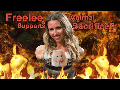 Freelee supports ritualistic animal sacrifice? (aka biodynamic farming)