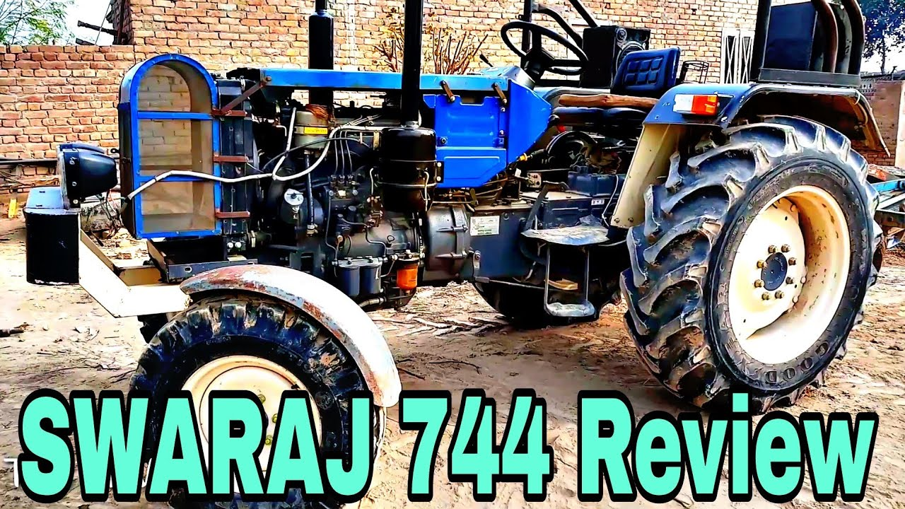 medium resolution of swaraj 744 fe review swaraj 744 50 hp tractor village