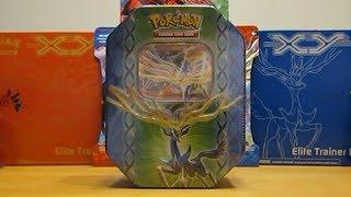 Pokemon Xerneas EX Tin Opening
