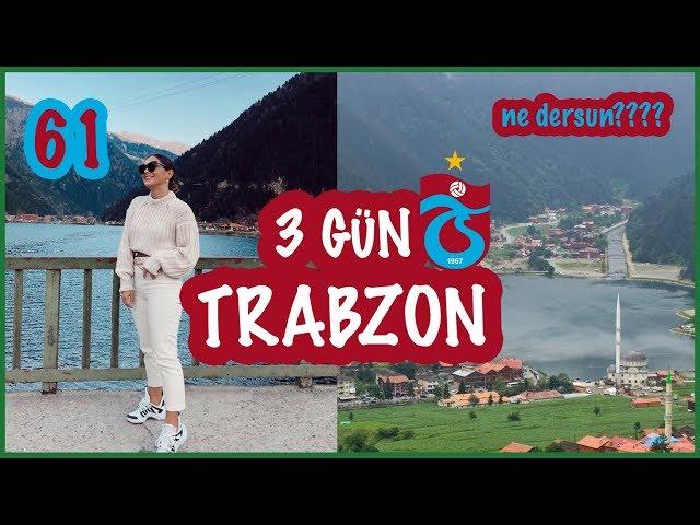 AMSTERDAM-TRABZON 3 GÜN VLOG | DEDEME SÜRPRIZ YAPTIK!! , YOZGATLI DAMADA ÇAYKARA - RIZE TURU!!