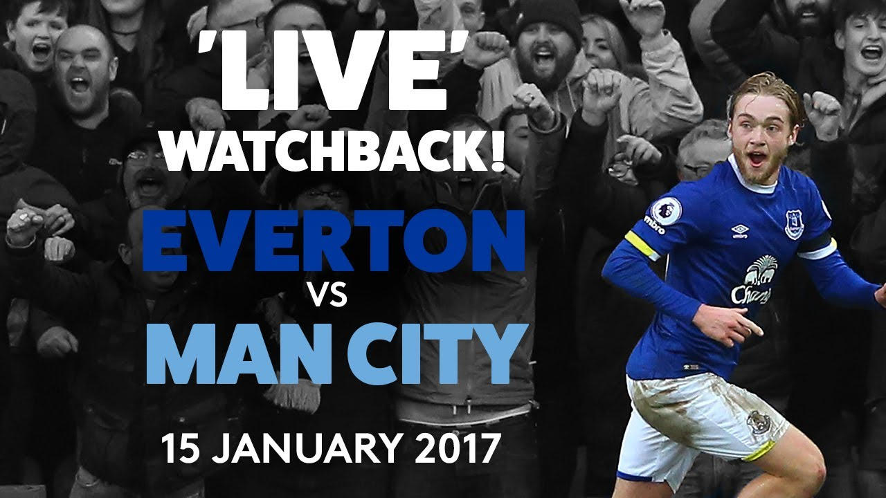 EVERTON 4-0 MAN CITY: FULL GAME! | 15 JANUARY 2017