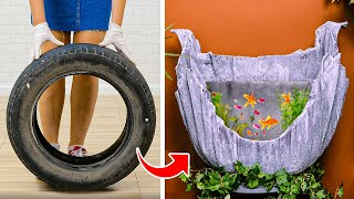 28 OVERCOMPLICATED CEMENT CRAFTS || AWESOME HOME DECOR