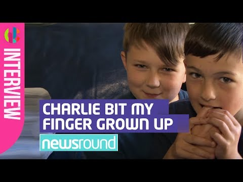 'Charlie Bit My Finger' boys grow up! - CBBC Newsround