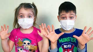 Children story about Viruses from Ed and Olivia История про вирусы