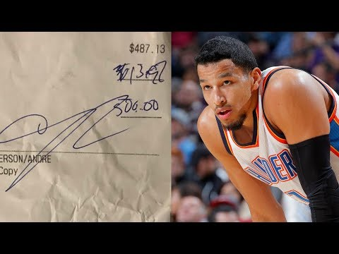 Andre Roberson BLASTED for Leaving Cheap Tip on $500 Bill, Responds to Bartender