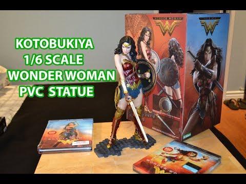 Kotobukiya 1/6 scale WONDER WOMAN ArtFX PVC STATUE! batman v superman