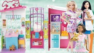 Barbie Veteriner Merkezi Seti Evi Güzellik Yarışması Türkçe Barbie videoları barbi barby