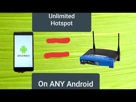 2019 Unlimited WiFi Hotspot On ANY Android Phone