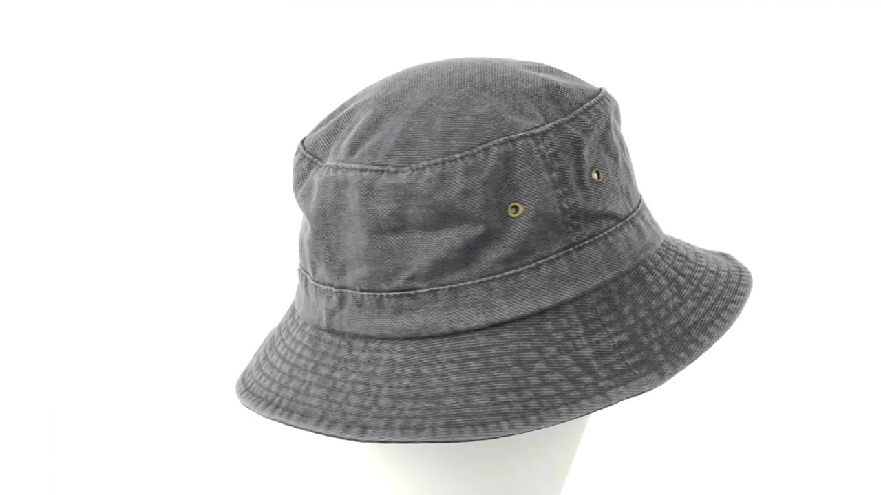 Dorfman Pacific Headwear Global Trends Bucket Hat - Washed Canvas (For Men  and Women) 8a75d42f77d9