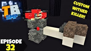 Truly Bedrock Episode 32! CUSTOM WITHER KILLER! Minecraft Bedrock Survival Let's Play!