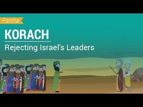 Parshat Korach: Rejecting Israel's Leaders