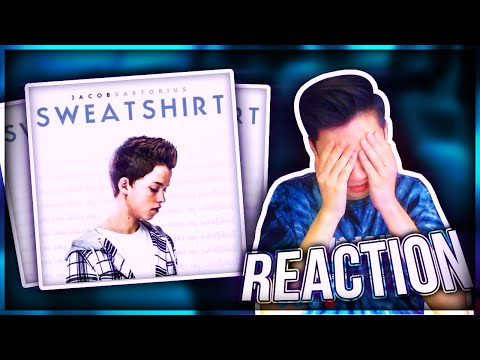 Thumbnail: REACTING TO Jacob Sartorius NEW SONG Sweatshirt (Ft.LeafyisHere)
