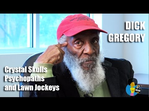 Dick Gregory - Crystal Skulls, Psychopathic Generals and Lawn Jockeys