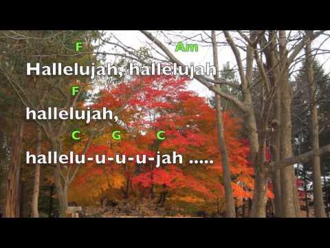Hallelujah (lyrics&chords)Alexandra Burke