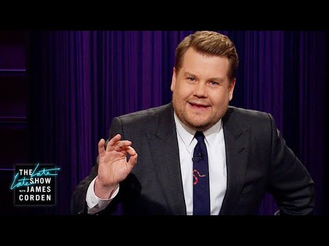 "James Corden vs. Guess How Many Times Trump Has Tweeted ""WITCH HUNT""!?!"