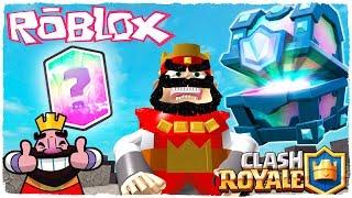 🤘 ¡CLASH ROYALE EN ROBLOX! - TINENQA