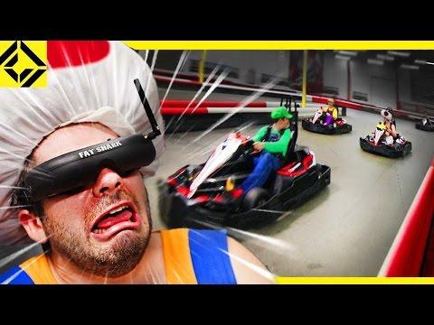 Blind Mario-Kart Game Simulator