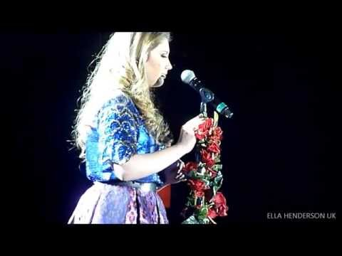 Ella Henderson - 'Missed' (Original Audition Song) Live in Glasgow 15/02/13 X Factor Tour