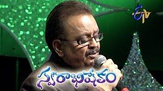 Evariki evaru ee lokam Song - S.P.Balu Performance in ETV Swarabhishekam - London, UK - ETV Telugu