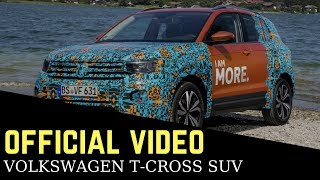 This is the new Volkswagen T-Cross SUV for India : Official video