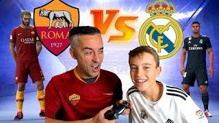 ROMA VS MADRID UEFA CHAMPIONS LEAGUE - FIFA 19