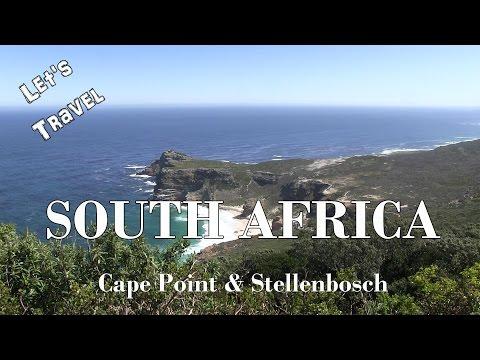 Let's Travel: South Africa Part 2 - Cape Point & Stellenbosch