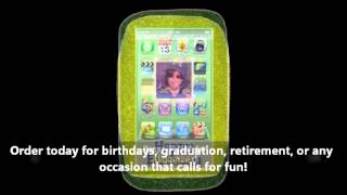 Personalized Iphone Cookies - Fabulous Birthday Favors Ideas For Teens