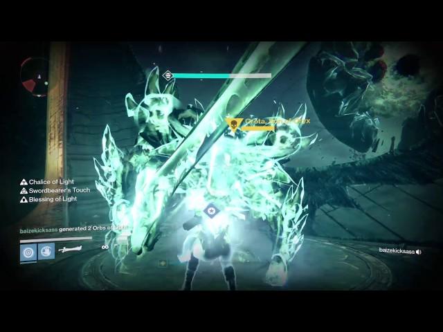 Destiny 3 man Crota 390 Hard Mode