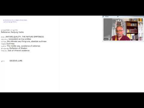 Online Buddhism Class's   Emptiness- 2013/07/28