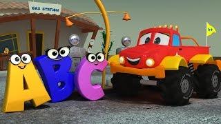 Monster Truck Dan  ABC SONG  Alphabet Song