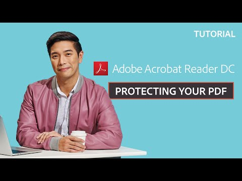 How to Protect PDF Documents | Adobe Document Cloud - YouTube