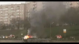 Водитель на Maserati  разбился в Москве