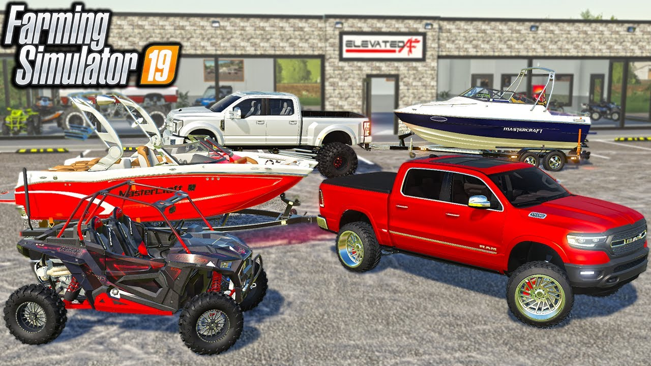 WE BOUGHT $500,000 IN NEW BOATS! | (ROLEPLAY) FARMING SIMULATOR 2019