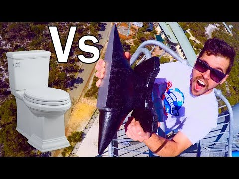 Anvil Vs. Uji Drop 45m Toilet