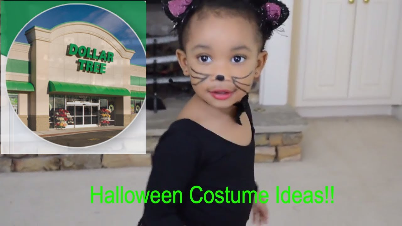 six dollar tree toddler girls halloween costume ideas