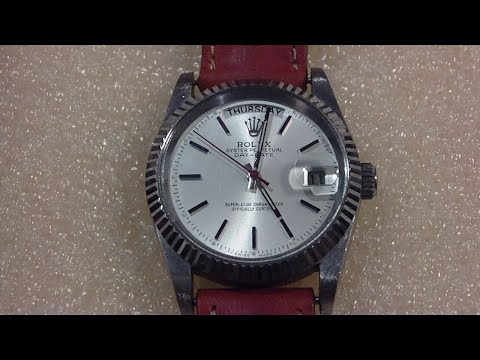 Thumbnail: Inside a fake Rolex, Chinese copy