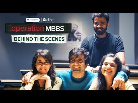 dice-media-|-operation-mbbs-|-web-series-|-behind-the-scenes