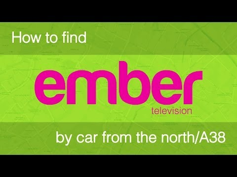 Driving from the Aston Expressway A38(M) | How to find Ember Television
