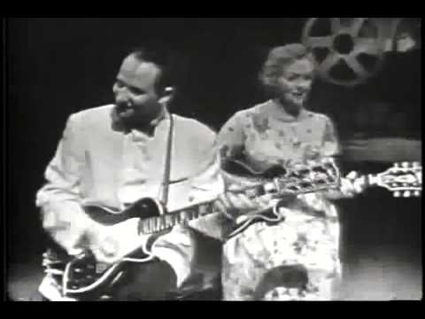 Les Paul and Mary Ford - on American Bandstand