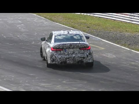 2021 BMW M3 G80 CONTINUES TESTING HARD on the Nürburgring!