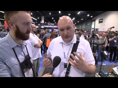 NAMM 2015: TC Electronic Viscous Vibe And Helix Phaser Demo