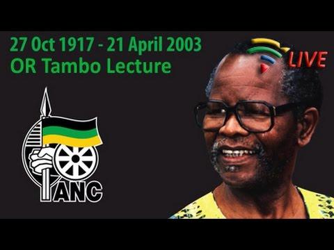 OR Tambo Memorial Lecture, PE - 25 October 2015