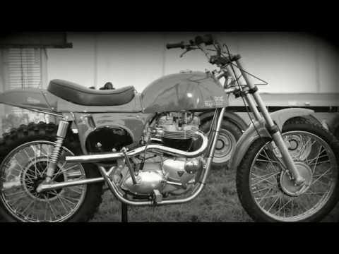 """Classic Dirt Bikes """"Steve McQueen Desert Racer"""""""