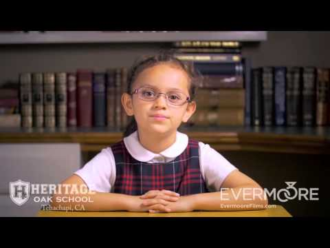 Tehachapi Corporate Promotional Video | Heritage Oak School