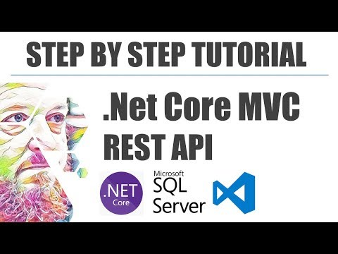 Step By Step Tutorial - .Net Core MVC REST API